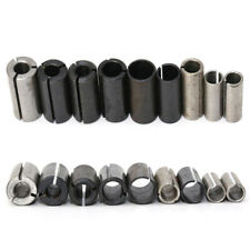 9pcs Collet Chuck Driver Adapter For Lathe Cnc Router Cutter Milling Bit Tool