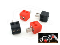 4 X 2 PIN Din Speakers Cable Plugs Easy Fit Terminal Screws for Bang & Olufsen