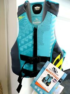 COLEMAN Stearns Life Vest Youth Large / Adult XXS Green V1 Series NWT