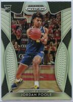 Jordan Poole Silver Rookie Card 2019 Prizm Draft Picks #92 Michigan Wolverines