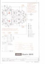 Grundig Service esquema eléctrico para Studio 3010