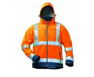 Elysee 22731 BILL High-Vis Softshell jacket orange/marine XL