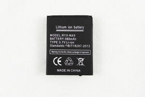 LQ-S1 RYX-NX9 380mAh Li-Ion Battery for Smart Watch DZ09 Android Smartwatch
