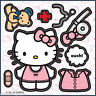 Hello Kitty Make Your Own Stickers x 5 Birthday Party Supplies Favours - Gift