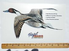 PINTAIL DUCK HUNTING DECAL STICKER AL AGNEW - REVERSE IMAGE ALSO AVAILABLE