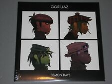 GORILLAZ  Demon Days 2LP  gatefold  New Sealed Vinyl 2 LP