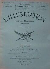 L' ILLUSTRATION No 4375 . 8 janvier 1927 . L' Ile de la Cite .