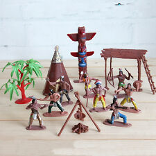 13Pcs Scale Raiders of the Lost Indian Action Figure Model Miniature Kids Toy