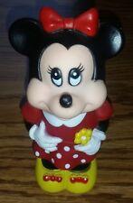 Vintage 1986 Minnie Mouse Vinyl Tootsietoy Collectible Disney Figure Figurine