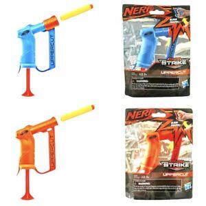Nerf Alpha Strike Uppercut Lot of 2 Dart Pistoles Orange and Blue Hasbro NEW Set