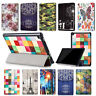 Patterned PU Leather Shell Case Cover For Amazon Kindle Fire HD 8 Inch Tablet