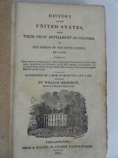 History Of The United States In 1830 William Grimshaw 1835