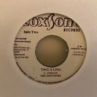 """THE  HEPTONES        7""""  VINYL  SINGLE ,  TING  A  LING"""