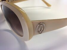 CARTIER SUNGLASSES DOUBLE C DECOR 100% AUTHENTIC MINT CONDITION RETAILS $600