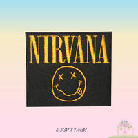 NIRVANA Music Band Embroidered Iron On Sew On Patch Badge