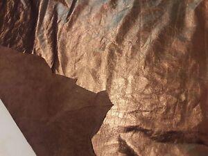 COWHIDE BRONZE GENUINE LEATHER FOIL METALLIC BRONZE FOIL DIFFERENT SIZES