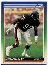 1990 Score Richard Dent base card #28 Chicago Bears