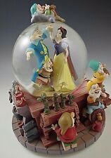 Disney's Snow White and the Seven Dwarfs Dancing Snow Globe