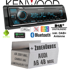 Kenwood Radio Audi A6 4b Bose Canbus Volante DAB Bluetooth IPHONE Android