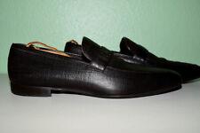 Zegna Loafer Slip on Leather Men's UK 8.5(US 9.5)