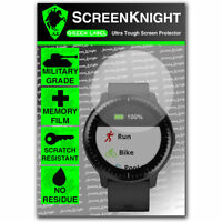 ScreenKnight Garmin Vivoactive 3 music SCREEN PROTECTOR - Military Shield