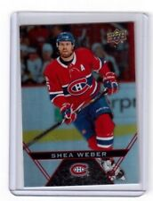 2018-19 Upper Deck Tim Hortons Base Card # 85 Shea Weber Montreal Canadiens