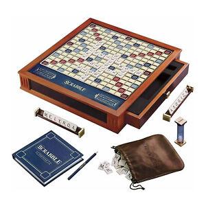Winning Solutions Scrabble Trophy Luxury Edition Board Game