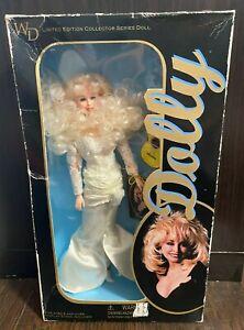 1996 Dolly Parton WD Goldberger Limited Edition Doll NIB Full White Dress in Box