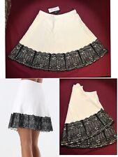 d09a28bc3ad9 Bebe Lace Hem Sweater Bandage Skirt Size S