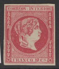 PHILIPPINES SG20 1863 10c CARMINE UNUSED
