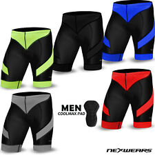 Mens Cycling Shorts Bicycle Road Clothing Bike Biker Coolmax Pad MTB Mountain
