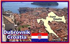 DUBROVNIK, CROATIA - SOUVENIR NOVELTY FRIDGE MAGNET - BRAND NEW - GIFT
