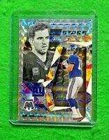 ELI MANNING MOSAIC STARE MASTERS SILVER PRIZM CARD GIANTS 2020 PANINI MOSAIC