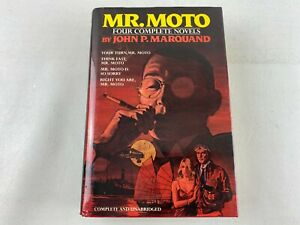 Mr Moto - Four Complete Novels by John P. Marquand, 1988 Hardcover Book