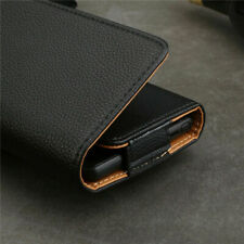 Universal PU Leather Belt Pouch Wallet Clip Hip Loop Case Cover For All Phones