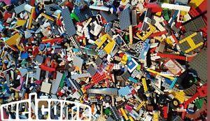 lego joblot mixed bricks 1KG-1000g starter pack genuine lego