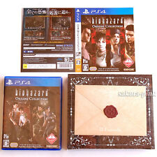 w/ Limited items e-CAPCOM Limited BIOHAZARD Origins Collection for PS4