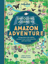 Unfolding Journeys Amazon Adventure by Jenni Sparks, Lonely Planet Kids, Stewart