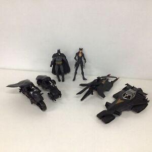 Assorted Lot of Batman Toys Action Figures Vehicles #412