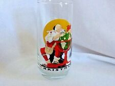 Coca Cola ~ Norman Rockwell ~ Christmas ~ Glass tumbler ~ Santa