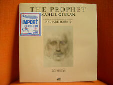 VINYL 33T – RICHARD HARRIS : THE PROPHET / ARIF MARDIN / KAHLIL GIBRAN – SEALED