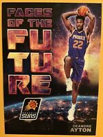 2018-19 NBA Hoops Faces of the Future Insert Deandre Ayton Rookie RC #1 Suns