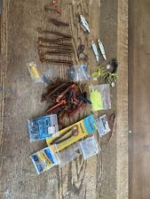 Huge Lot of 47+Artificial Soft Fishing Lures Worms