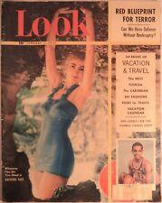 LOOK Magazine January 1 1952 Korea Lloyd Wright Globetrotters Travel Fashion