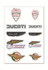 Ducati Historical Meccanica Mix Set Adesivi Ventilatore Collezionismo Adhesivo