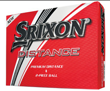 SRIXON DISTANCE 9  4 DZ GOLF BALLS - WHITE - NEW IN BOX  2018  - VALUE!