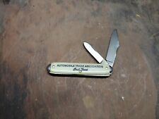 Vintage Automobile Trade Association Crab Feast Pocket Knife