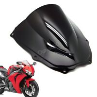 Blakc Double Bubble Windscreen Windshield ABS For Honda RVT1000R RC51 2000-2006