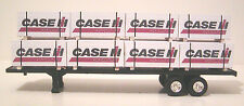 farm toy, ertl, 1/64 scale trailer loads  set of 12   CASE