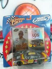 1:43 NASCAR Winner's Circle Double Platinum Dale Jarrett & UPS